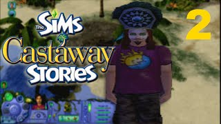 EXPLORING - Let's Play - The Sims Castaway Stories - PC - 2