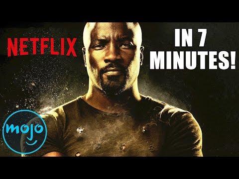 Luke Cage Season 1 in 7 Minutes - ReWatchClub