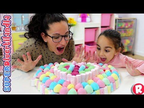 Tarta de Gominolas con Andrea y Raquel en SUPERDivertilandia