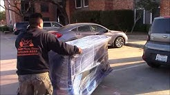 How To Wrap & Move a Sofa | Rescue Moving Services Dallas Fort Worth,TX