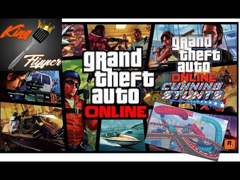 GTA Online Live - Stunt Playlists With You Guys