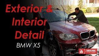 Interior & Exterior Detail -- BMW X5