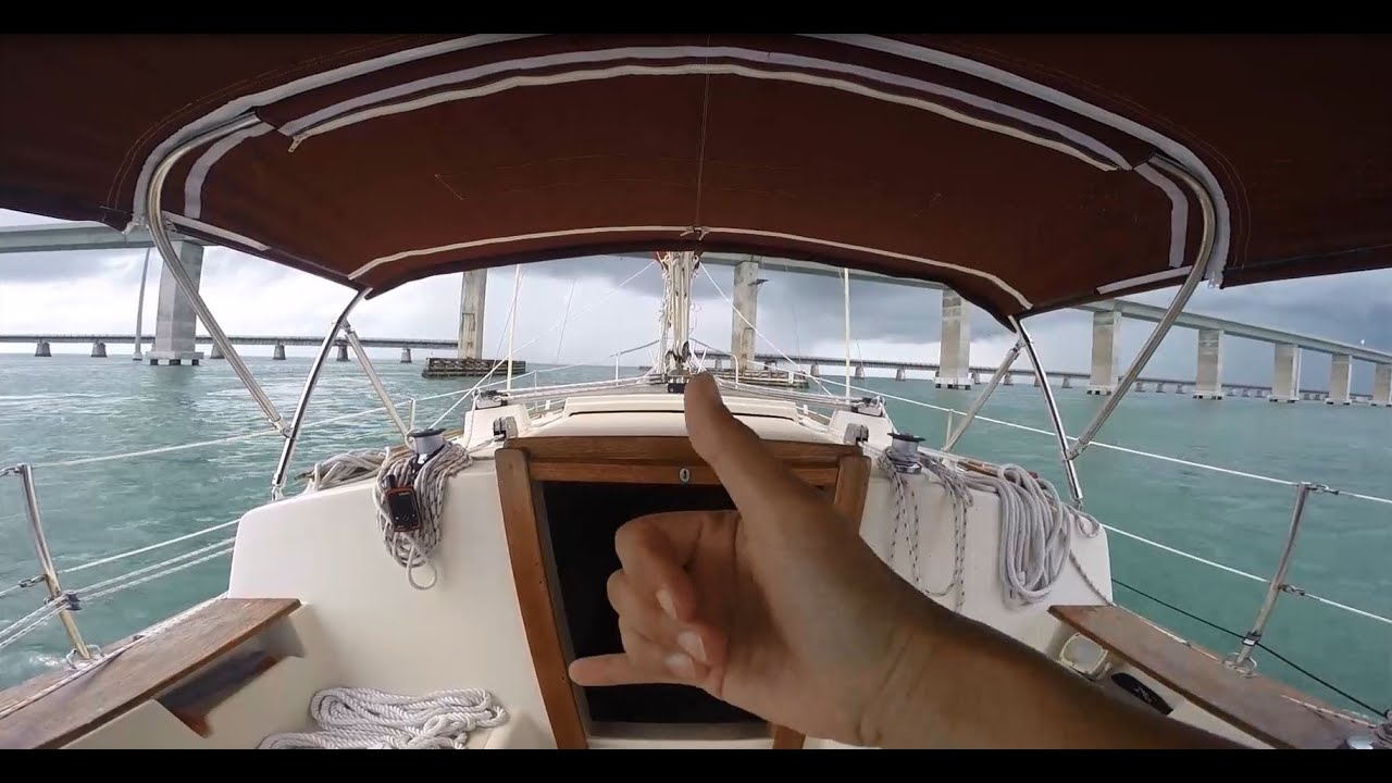 Sailing From Key West To Marathon In