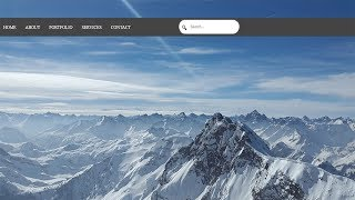 Animated Search box with HTML5 and CSS3 | No Javascript or JQuery