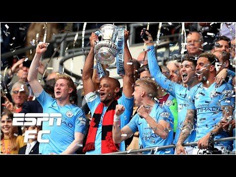 Man City vs. Watford: City win 6-0, claim 1st ever men's English domestic treble | FA Cup Highlights