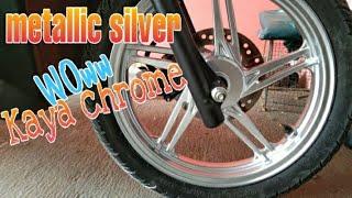 vuclip Samurai paint, metallic silver mirip chrome