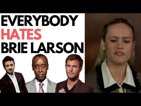 Avengers Cast Savagely Roast Brie Larson & Her Lies About Doing Her Own Stunts