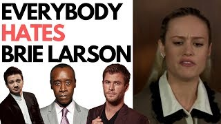 Download Avengers Cast Savagely Roast Brie Larson & Her Lies About Doing Her Own Stunts Mp3 and Videos
