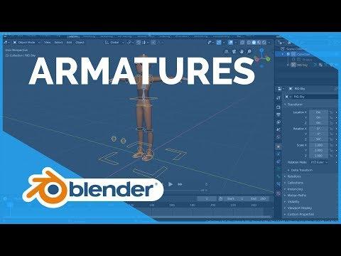 Armatures - Blender 2.80 Fundamentals