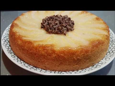 Gateau poire chocolat express thermomix