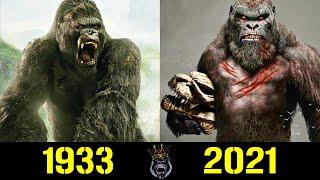 👑 Кинг Конг - Эволюция (1933 - 2021) ! Все Появления в Кино 🎬!