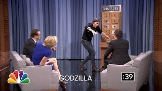 Charades with Charlize Theron and Josh Hartnett