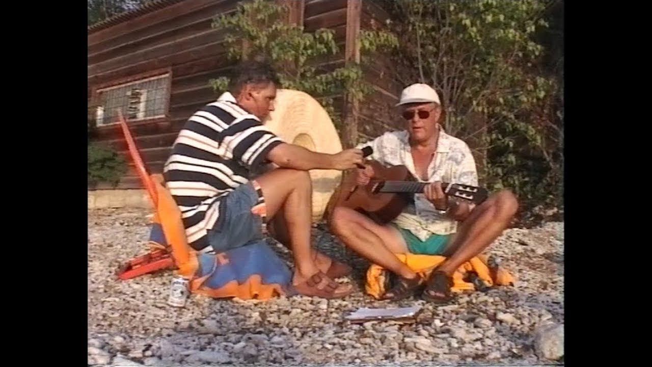 POCO PAUL COTTON AT THE BEACH -CURACAO 1997 -IT NEVER GOES AWAY