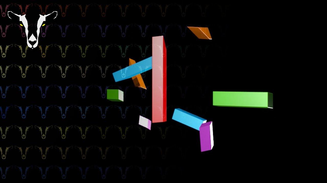 [MOCK] Channel 4 1982 ident in Blender v4