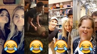 Pretty Little Liars Cast | BEST FUNNY MOMENTS | BEHIND THE SCENES | SEASON 7 exe.part.1