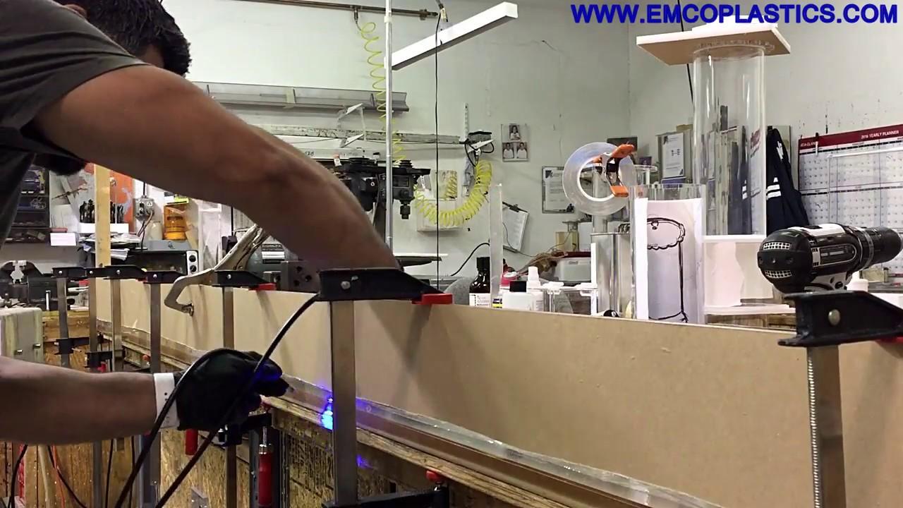 Acrylic Machining & Fabrication   Emco Industrial Plastics