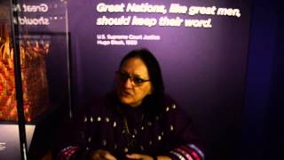 Smithsonian American Indian Museum Treaty Exhibit Opens