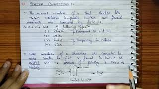 Reveted Connections Introduction   Fasteners,type of Fasteners,riveted,riveting   structural steel#6