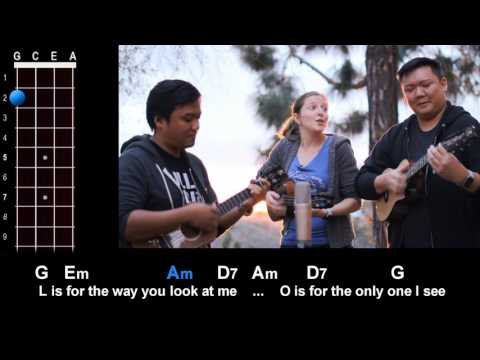 """L-O-V-E"" (Nat King Cole) Ukulele Play Along!"