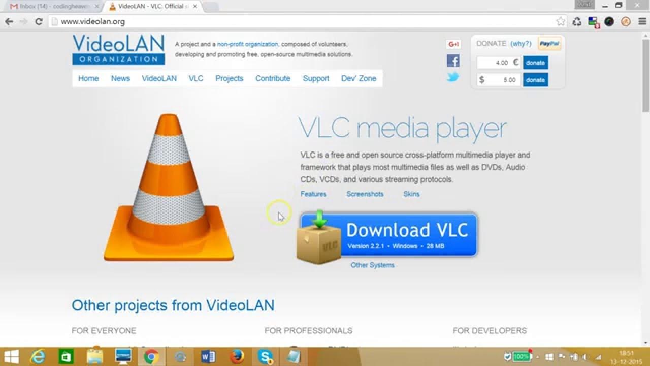 vlc player free download windows 8