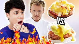 i only made GORDON RAMSAY RECIPES for a day