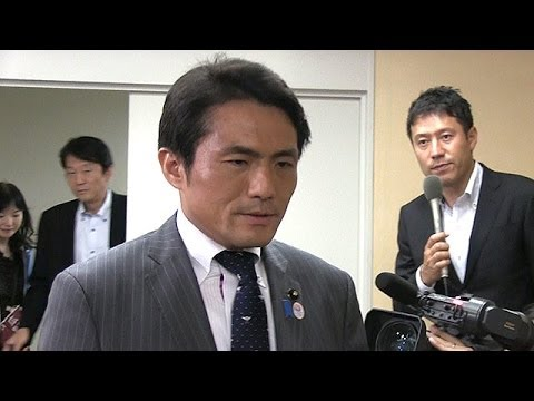 自民・鈴木章浩都議、塩村氏にヤジを謝罪 辞職はせず