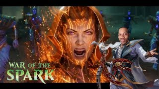 MTG FIRST WAR OF THE SPARK OFFICIAL PANEL/SPOILER REVIEW