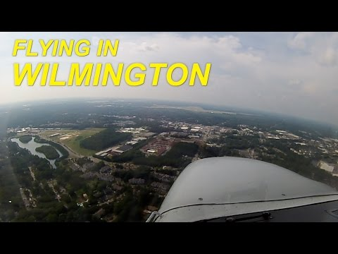 Flying in Wilmington