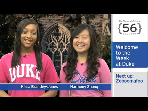 Goodbye Zoboomafoo; Black Friday Advice: The Week at Duke {in 60 Seconds}