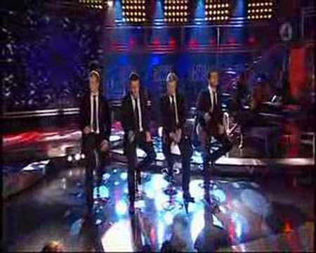 Westlife singing the Rose on Idol