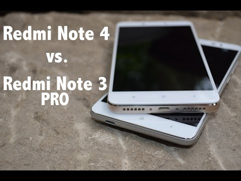 Xiaomi Redmi Note 4 vs. Xiaomi Redmi Note 3 PRO - Detailed view & Antutu comparison