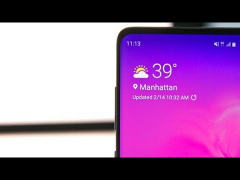 Download Samsung S10 (One UI) Weather Widget For Any Android Phone
