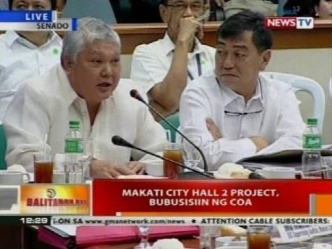 Pagdinig ng Senado kaugnay ng umano'y overpriced Makati City Hall carpark (Part 2)