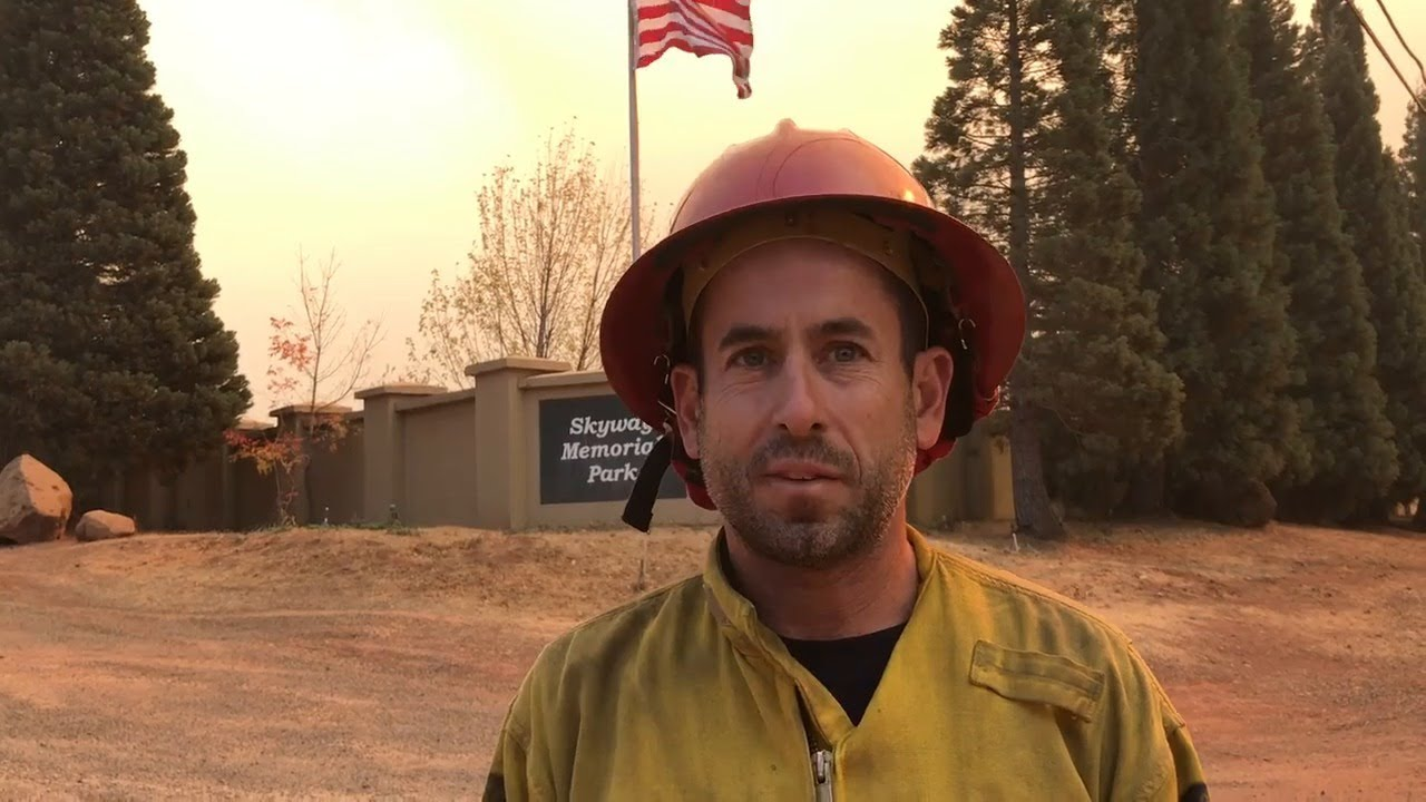 Fire captain becomes emotional talking about Camp Fire