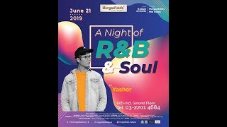 "Yasher "" A night of RnB and Soul"" LIVE in Morganfield"