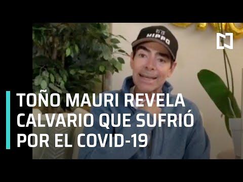 Toño Mauri a punto de morir por el Covid-19 - A las Tres