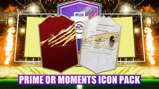 OMG WE GOT THE PRIME OR MOMENTS ICON PACK - FIFA 21 ULTIMATE TEAM