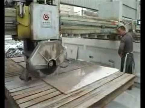 edge cutting machine for marble and granite avi youtube