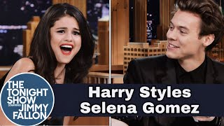 Harry styles & selena gomez: jimmy ...