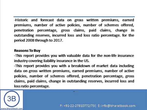 Liability Insurance in the US to 2017  Market Databook