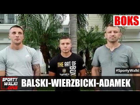 Adamek, Balski i Wierzbicki o walce Adama Kownackiego
