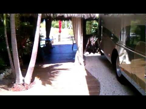 My RV Space in Key West - Spring 2012
