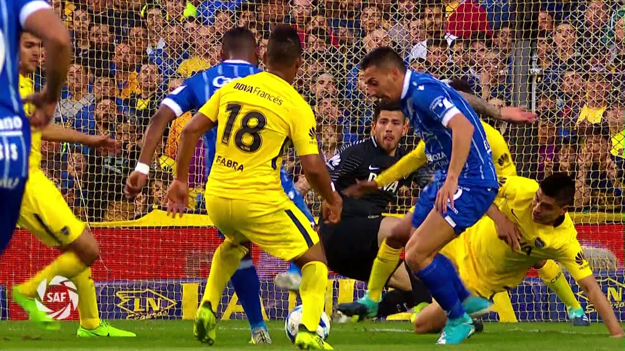 Boca Juniors 4-1 Godoy Cruz Antonio Tomba