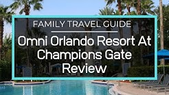 Full Resort Tour Of Omni Orlando Resort at Champions Gate - Pool, Lazy River, Restaurants, Kids Club