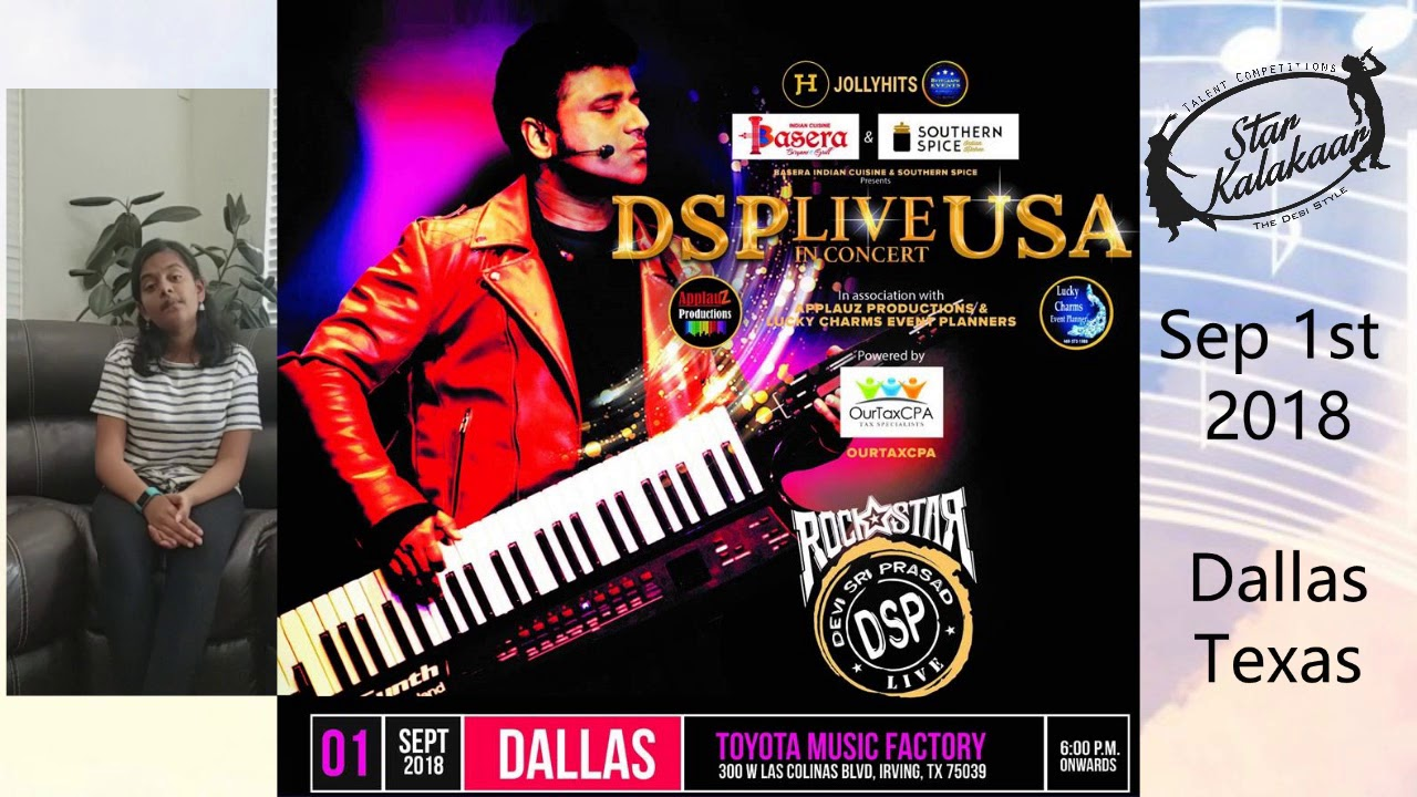Vid3 - Excellent Opportunity at Rockstar Devi Sri Prasad concert
