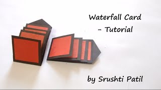 How to make - Waterfall Card Tutorial | by Srushti Patil thumbnail