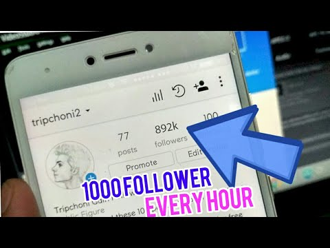 Get 1000  instagram followers in one hour | 1M followers August 2017 using Famedgram