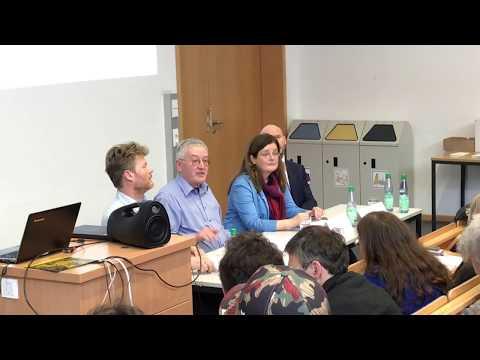 Diskussion Christian Felber Hochschule Bremen 12.04.18