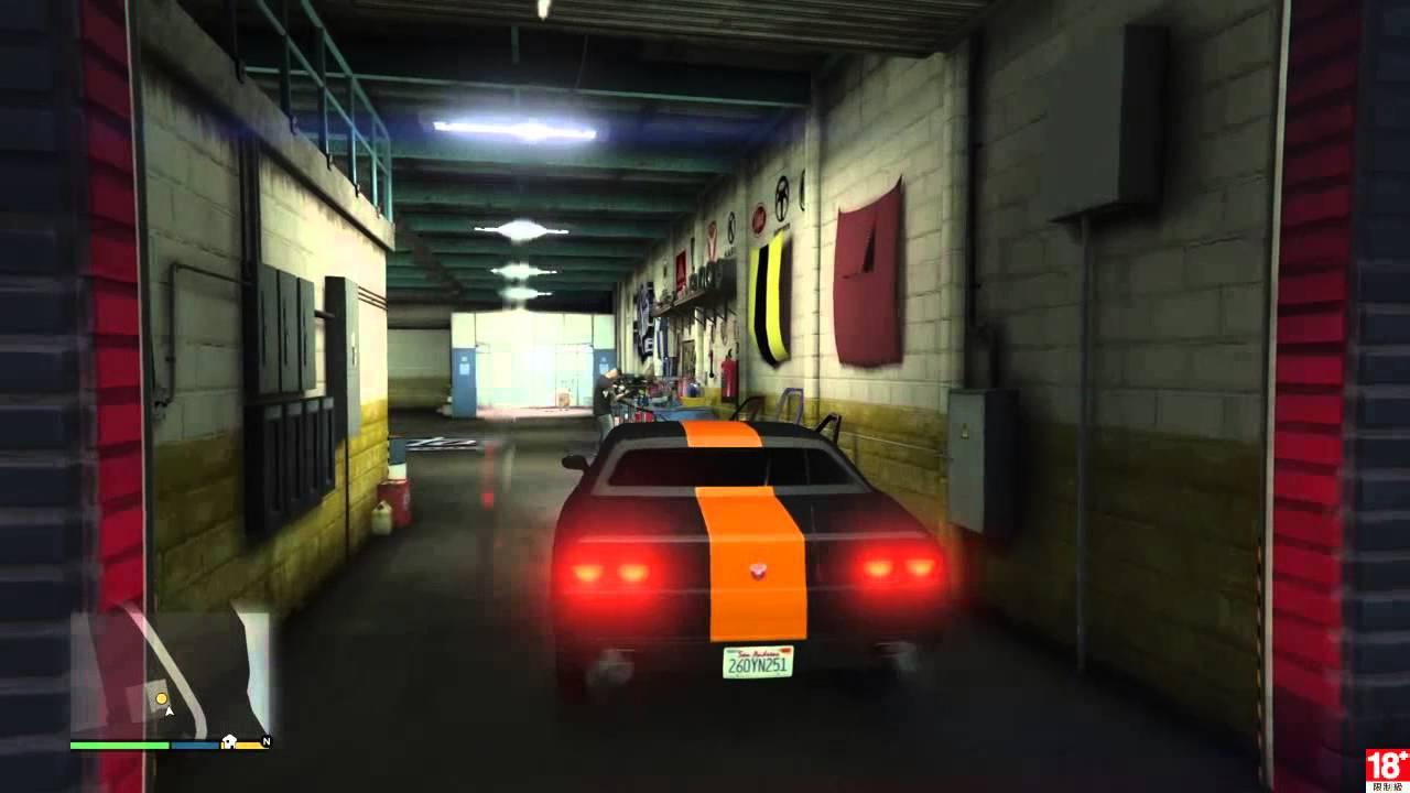 [GTA5] Grand Theft Auto V 聯合儲蓄搶劫準備-鐵腕 - YouTube
