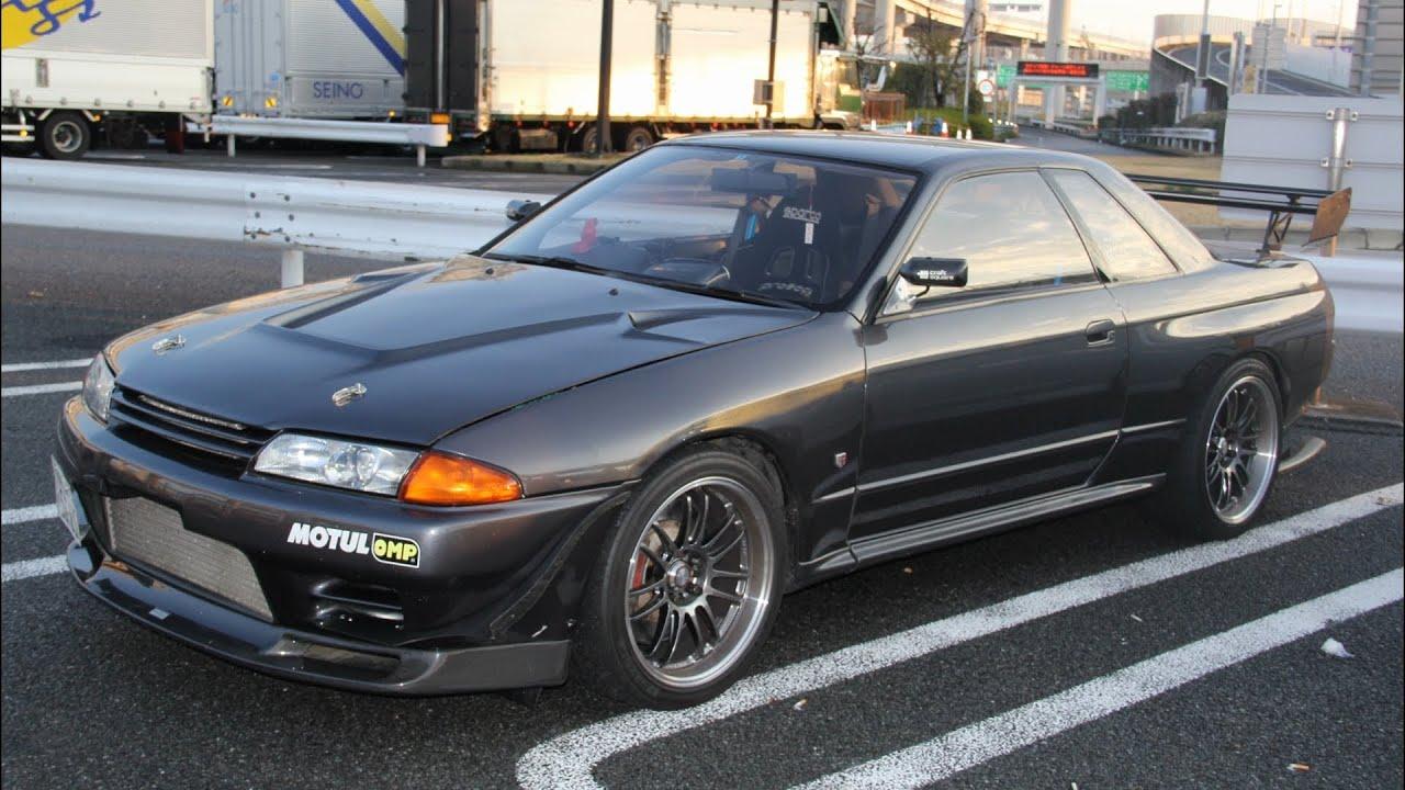 大黒pa 】 日産スカイライン Gt R Bnr32 【 Nissan Gtr Bnr32 】 Youtube